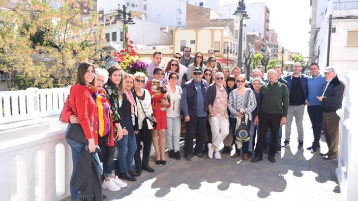 Las imágenes de la conmemoración del aniversario de la II República en Buñol