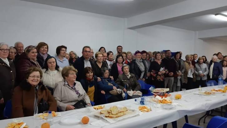 """Las imágenes de la """"Cena del Hambre"""" en Yátova"""