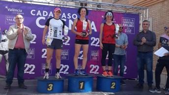 Las hermanas Cambres comparten podio en La Vall de Segó