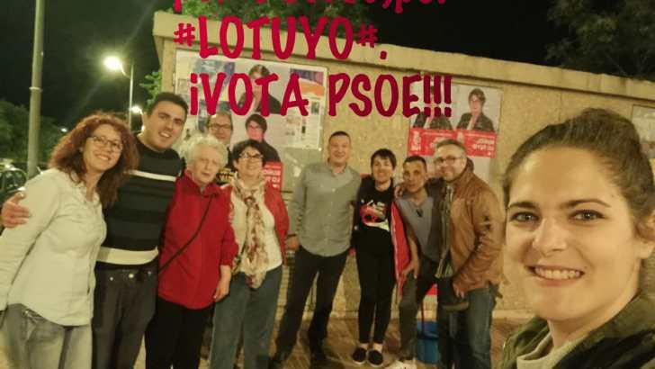 El PSOE de Buñol arranca la campaña municipal con el objetivo de ganar las elecciones