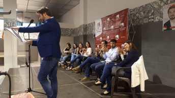 Las imagenes del acto central de campaña de EU en Buñol