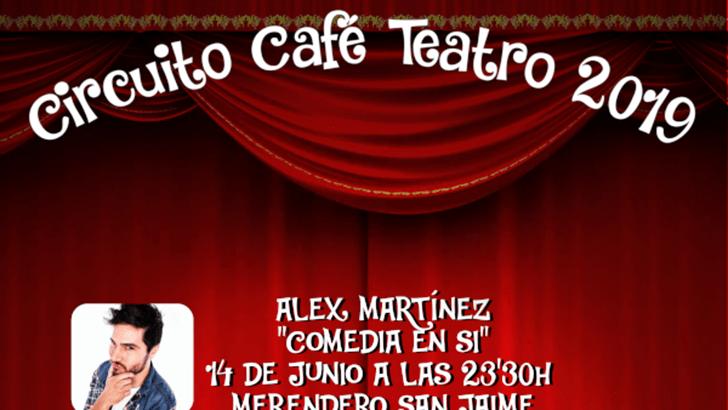 El monologuista Álex Martínez llega este viernes a Alborache