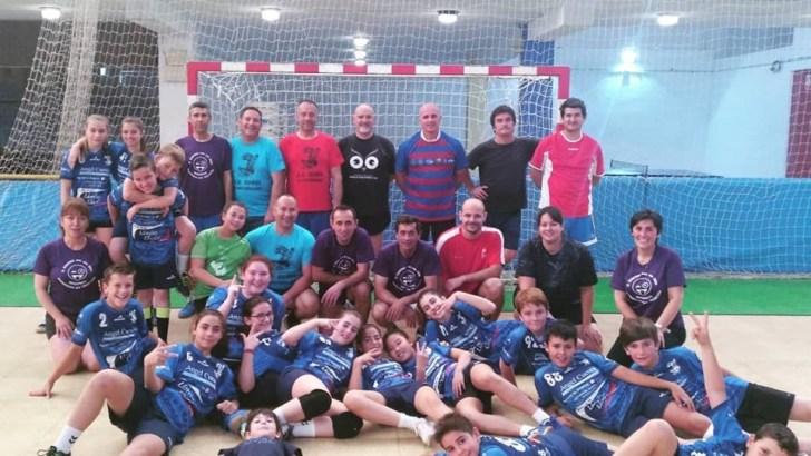 El Club Balonmano Buñol celebra su fiesta de fin de temporada