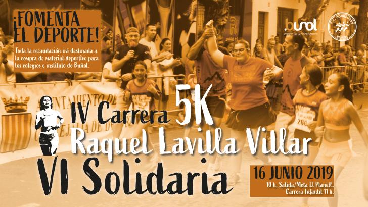 Este domingo se celebra la Carrera 5K Solidaria Raquel Lavilla