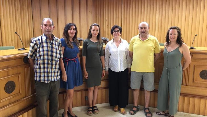 Carmen Marzo formaliza su solicitud para ser Reina de la Feria y Fiestas de Buñol