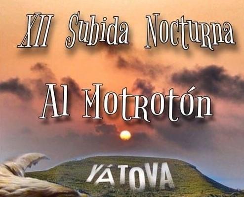 Yátova organiza la XII subida al Motrotón