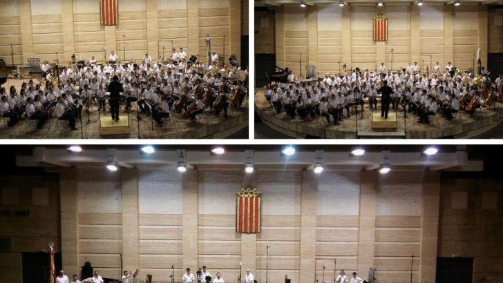 """El concierto """"A Tres Bandes"""" consolida el éxito del proyecto en Buñol"""
