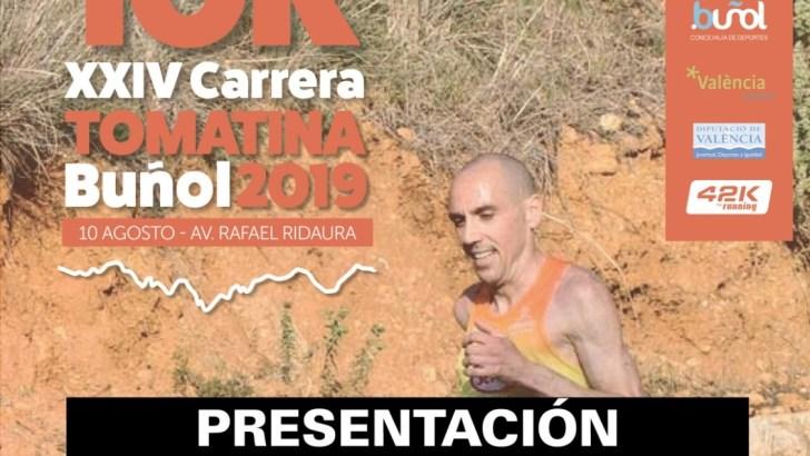 La XXIV Carrera Tomatina – 10K de Buñol se presenta este viernes