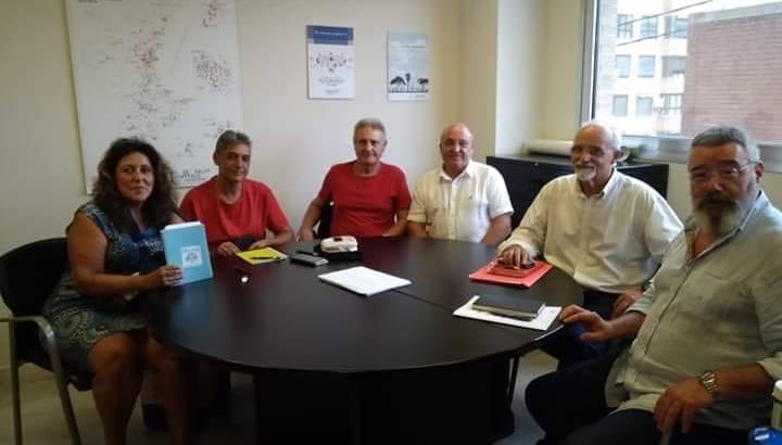La Plataforma Pro Hospital se reúne con el Comisionado del Hospital de Manises