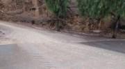 Las lluvias dejan en Buñol en las últimas horas más de 70 litros por metro cuadrado (imágenes)