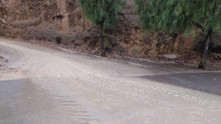 La gota fría deja en Buñol más de 144 litros por metro cuadrado