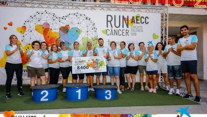 La Run Cáncer de Chiva recauda 8.400€