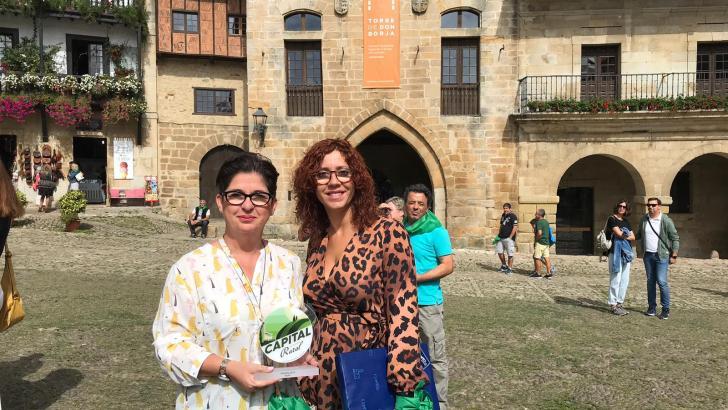 """Buñol recoge el premio como finalista del concurso """"Capital de Turismo Rural de 2019"""""""