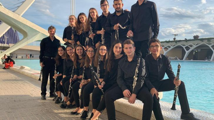 El Ensemble de Clarinetes y la Brass Band del Conservatorio de Buñol participan en la II Mostra Turisme de la Comunitat Valenciana