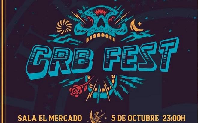 El rock vuelve este sábado a Buñol con el CRB Fest