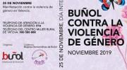 Los actos de la semana contra la violencia de género en Buñol continúan este viernes