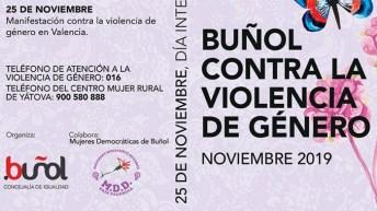 Buñol prepara un amplio programa de actividades en la semana contra la violencia de género