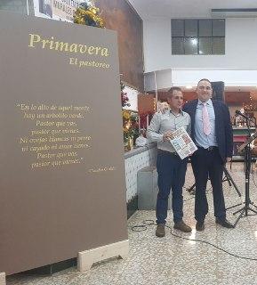 La Mutua de Chiva inicia acciones para rehabilitar los murales de Manuel Mora con una exposición
