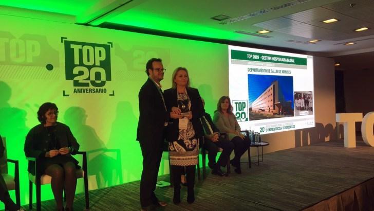 Los premios TOP 20 reconocen la Gestión Hospitalaria y las Áreas de Mujer y Musculoesquelético