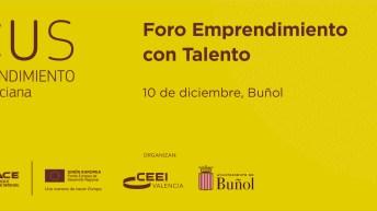 Buñol acoge el último Foro Emprendimiento con Talento de 2019