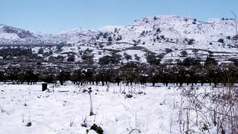 ¿Veremos nieve este fin de semana en Buñol y comarca?