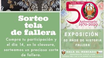 El 50 Aniversario de la Falla Reyes Católicos de Buñol tendrá una exposición en la Sala «El Mercado»