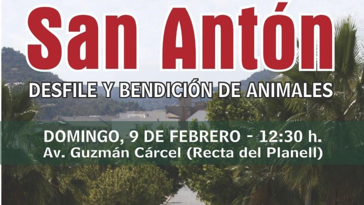 La festividad de «San Antón» llega este domingo a Buñol