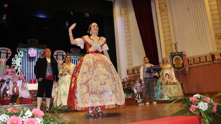 Míriam Villena Miralles repetirá este sábado como Fallera Mayor de «El Prado»