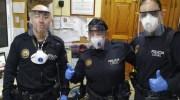 El Ayuntamiento de Buñol entrega pantallas protectoras a las fuerzas de seguridad, al Centro de Salud y a la residencia