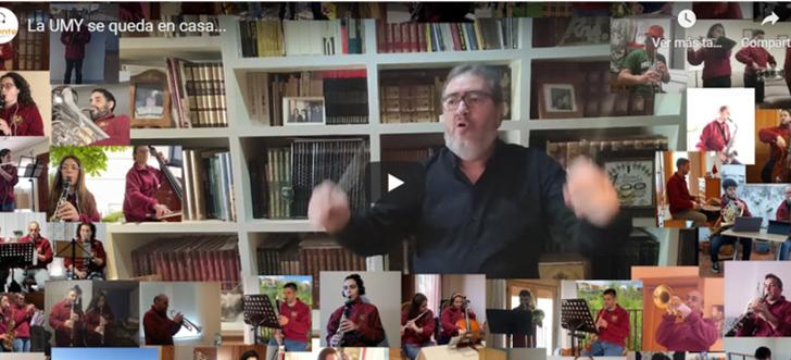 La Sociedad Musical de Yátova ameniza el confinamiento con este vídeo
