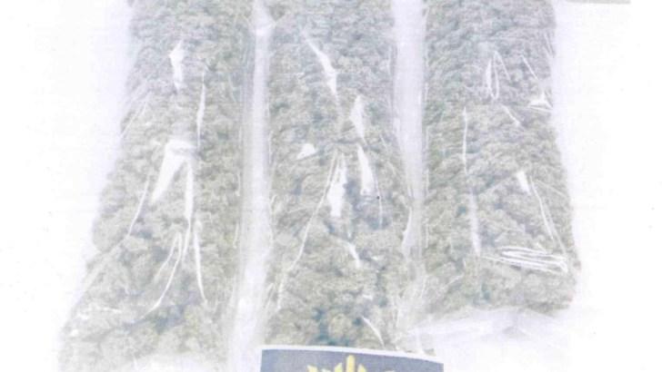 La Policía Local de Chiva detiene a un hombre 1'5 kilos de marihuana