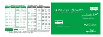 HORARIO AUTOBUS Hosp. Manises 2020