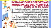 La Concejalía de Deportes de Buñol informa sobre la normativa y uso del Pabellón Municipal