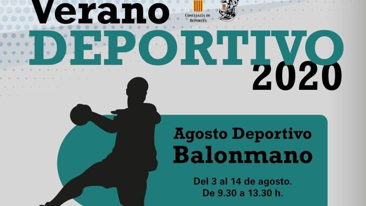 El Club Balonmano Buñol organiza un «Agosto Deportivo» para niñas y niños