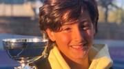 El buñolense Javier Ballester se proclama campeón del torneo de tenis Young Tennis Tour Tecnifibre