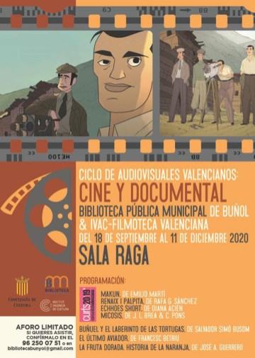 Películas y documentales en la Biblioteca Municipal de Buñol
