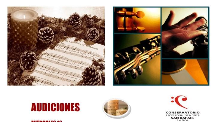 El Conservatorio de Buñol celebrará su semana de audiciones del 16 al 22 de diciembre