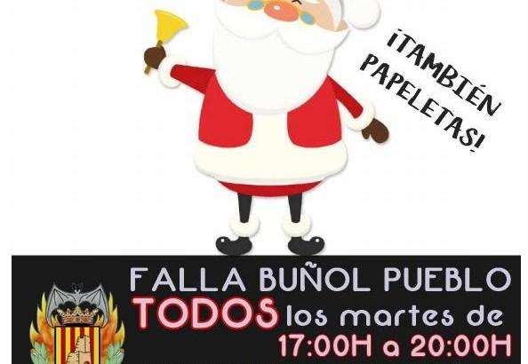 La Falla Buñol Pueblo pone a la venta su Lotería de Navidad