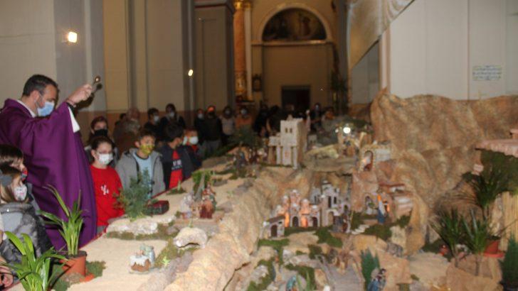 La Parroquia San Pedro Apóstol de Buñol inaugura su tradicional Belén