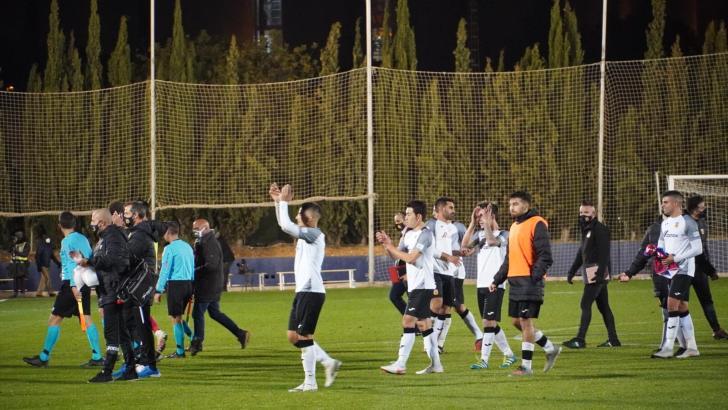 Un gran CD Buñol cae ante el Elche en su primera participación en la Copa del Rey