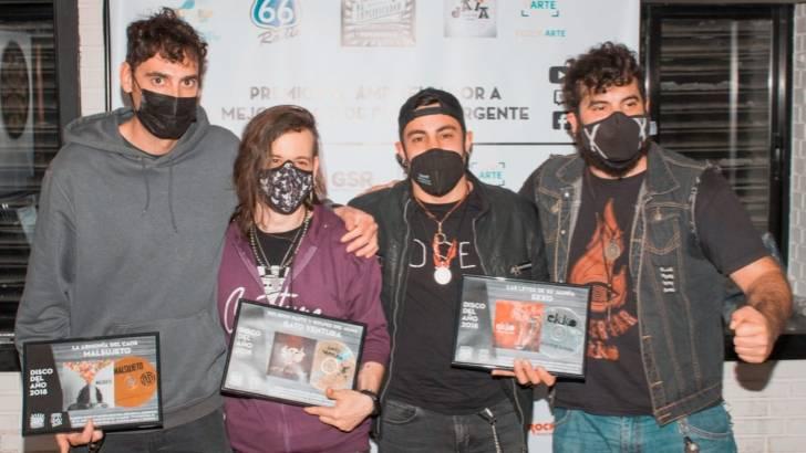 El grupo buñolense «Malsujeto» premiado por su disco «La Armonía del Caos»