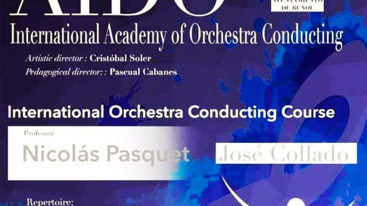 Buñol será sede del I Curso Internacional de Dirección de Orquesta Aido José Collado