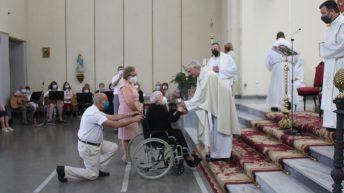 La parroquia Nuestra Señora de los Dolores Buñol acoge la Eucaristía de Acción de Gracias a las Obreras de la Cruz