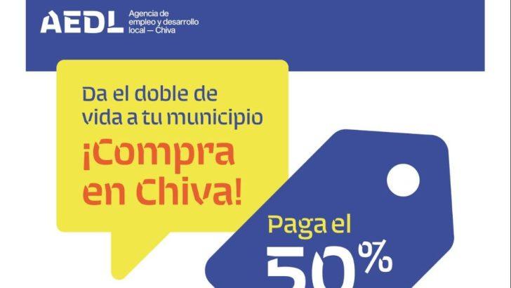 Llega «Chiva bono compra 100×50, da el doble de vida a tu pueblo»
