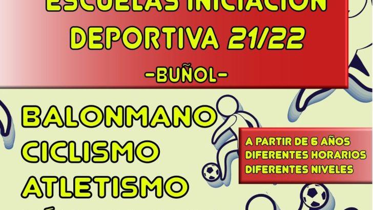 Las Escuelas de Iniciación Deportiva de Buñol arrancan el curso