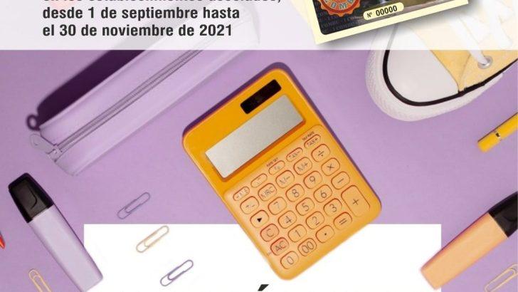 Vuelven los «COMBUS» en la campaña «La Vuelta al Cole» de Buñol Comercial