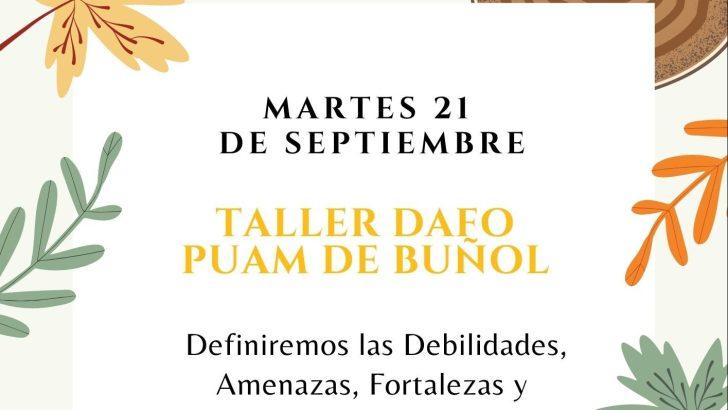El Plan de Actuación Municipal de Buñol continúa con un taller informativo el próximo martes