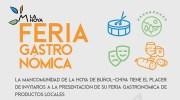 Buñol estará presente en la Feria Gastronómica de la Mancomunidad Hoya de Buñol-Chiva de este fin de semana en Ruzafa Estudio