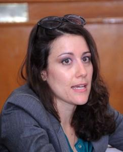 La consultora de la Iniciativa de Ciudades Emergentes y Sostenibles (ICES) México, del Banco Interamericano de Desarrollo (BID), Isabel Carreras.