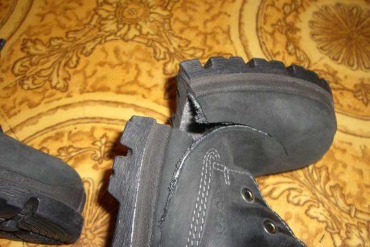 η σόλα της έκρηξης παπουτσιών